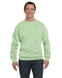 Authentic Pigment 1975 11 Oz. Pigment-Dyed Fleece Crew at bigntallapparel