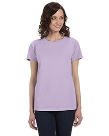 Authentic Pigment 1977 Women Wo5.6 Oz. Pigment-Dyed & Direct-Dyed Ringspun T-Shirt