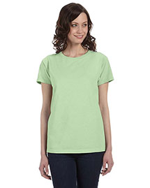 Authentic Pigment 1977 Women 5.6 Oz. Pigment-Dyed & Direct-Dyed Ringspun T-Shirt at bigntallapparel