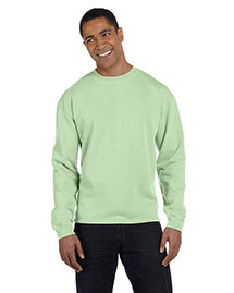 Authentic Pigment 1983 Men  10 Oz. Pigment-Dyed Boxy Crew
