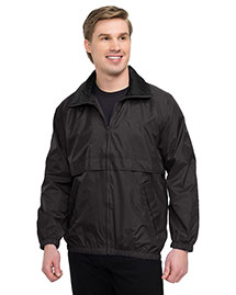 Tri-Mountain 2000 Men Big And Tall Nylon Jacket With Mesh Lining