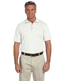Ashworth 2013 Men's Ez-Tech Jersey Textured Stripe Polo at bigntallapparel
