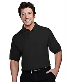 Tri-Mountain 205 Men Stain Resistant Pique Polo Golf Shirt