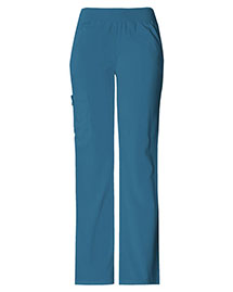 Cherokee 2085T Women Mid Rise Knit Waist Pull-On Pant