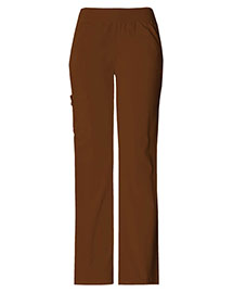 Cherokee 2085 Women Mid Rise Knit Waist Pull-On Pant