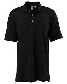 Ashworth 2203C Men Ez-Tech Short-Sleeve Textured Polo at bigntallapparel