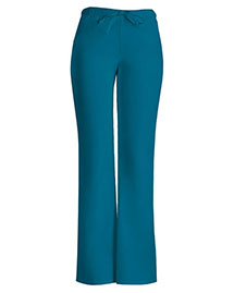 Cherokee Workwear 24002 Women Low Rise Moderate Flare Drawstring Pant