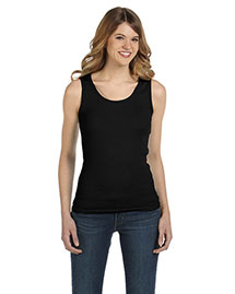 Anvil 2415 Women ' 2x1 Rib Tank Top