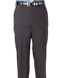 Edwards 2560 Men Pinstripe Flat Front Pant