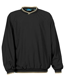 Tri-Mountain 2560 Men Big And Tall Peached Microfiber Windshirt With Nylon Lining at bigntallapparel