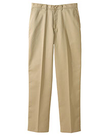 Edwards 2570 Men's Blended Chino Flat Front Pant at bigntallapparel