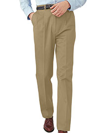 Edwards 2630 Men All Cotton Pleated Pant