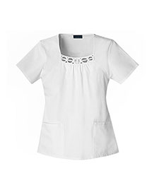Cherokee 2751 Women Square Neck Top