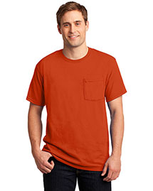 Jerzees 29mp Men  50/50 Cotton/Poly Pocket T Shirt