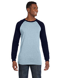 Canvas 3000C Men 4.2 Oz. Hawthorne Baseball T-Shirt