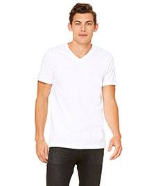 Canvas 3005 Men's 4.2 Oz. Delancey V-Neck at bigntallapparel