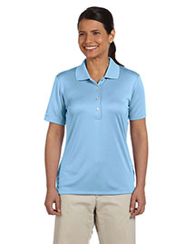 Ashworth 3050 Women Performance Interlock Solid Polo