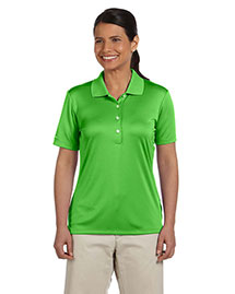 Ashworth 3050 Women Performance Interlock Solid Polo at bigntallapparel