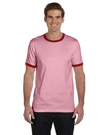 Canvas 3055C Men's 4.2 Oz. Robertson Heather Ringer at bigntallapparel