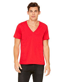 Canvas 3105 Unisex 4.2 Oz. Deep V-Neck at bigntallapparel