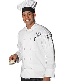 Edwards 3301   10-Button Chef Coat