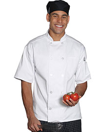 Edwards 3306 Men Casual 10 Button Short Sleeve Chef Coat
