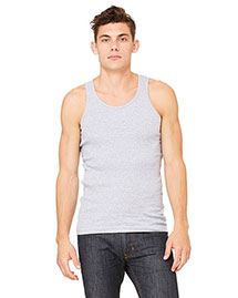 Canvas 3400C Men 5.8 Oz. Mulholland Rib Tank