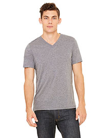Canvas 3415C Men's 3.4 Oz. Short-Sleeve V-Neck Triblend at bigntallapparel