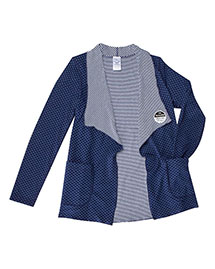 Runway 3444 Women Reversible Knit Cardigan