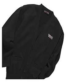 Edwards 350   V-Neck Pocket Cardigan With Tuff-Pil Plus