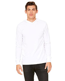 Canvas 3512 Men  4.2 Oz. Driftwood Long-Sleeve Jersey Hoodie