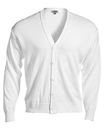 Edwards 351 Men  V-Neck Cardigan With Tuff-Pil Plus