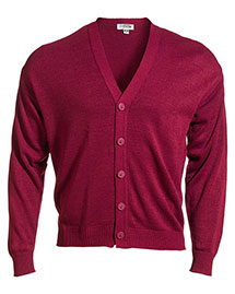 Edwards 351 Unisex V-Neck Cardigan With Tuff-Pil Plus at bigntallapparel
