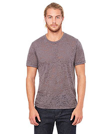 Canvas 3601 Men 3.6 Oz. Burnwood Burnout Short-Sleeve T-Shirt