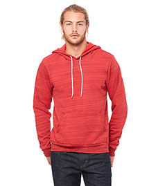 Bella 3719 Men  Poly-Cotton Fleece Pullover Hoodie at bigntallapparel