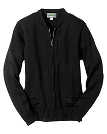 Edwards 372 Men  Heavy Weight Zipper Cardigan W/Tuff-Pil? Plus at bigntallapparel