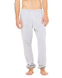 Bella 3737 Men Fleece Long Scrunch Pant