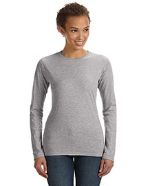 Anvil 374L Women Fit Ringspun Long-Sleeve T-Shirt