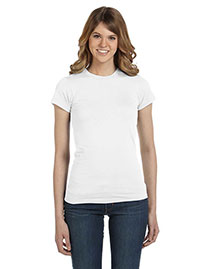 Anvil 379 Women WoSemi-Sheer Crewneck T-Shirt