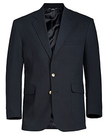Edwards 3830 Men's Hopsack Blend Blazer at bigntallapparel