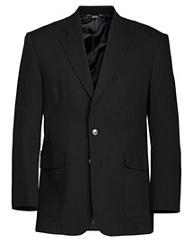 Edwards 3830 Men Hopsack Blend Blazer at bigntallapparel