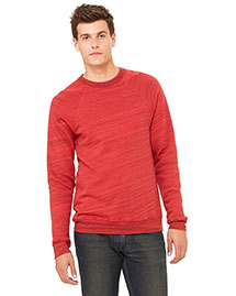Canvas 3901 Men  8.2 Oz. Triblend Sponge Fleece Pullover