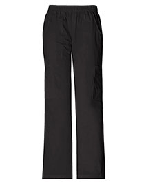 Cherokee Workwear 4005 Women Stretch Mid Rise Pull-On Pant Cargo