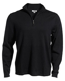 Edwards 4072 Unisex 1/4 Zip Fine Gauge Sweater at bigntallapparel