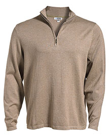 Edwards 4072 Men  1/4 Zip Fine Gauge Sweater