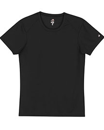 Badger 4160 Ladies' BCore ShortSleeve Performance Tee at bigntallapparel