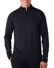 Badger 4280 Men ¼zip Lightweight Pullover Jacket at bigntallapparel