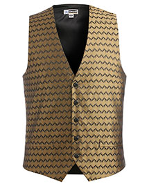 Edwards 4391 Men Swirl Brocade Vest