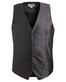 Edwards 4396 Men's Grid Vest at bigntallapparel