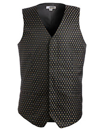 Edwards 4497 Men's Diamond And Dots Vest at bigntallapparel